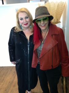Helen Yarmak and Patricia field