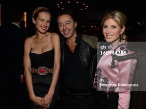 Petra Nemcova, la perla designer Giovanni Biachi and Hofit Golan