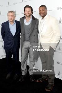 Robert De Niro, Bradley Cooper & Chris Tucker