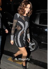 joanne-black-cheryl-cole-Sass & Bide Dress